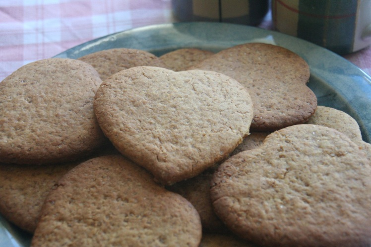 Cookies on plate small
