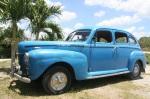 Blue car small
