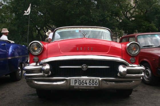 Red car front small