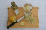 elderflower cordial on board small