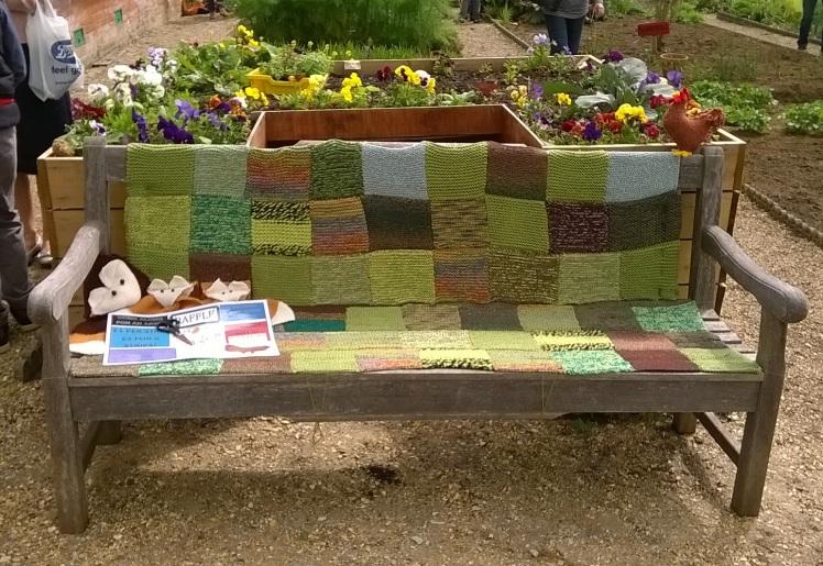 Garden bench small