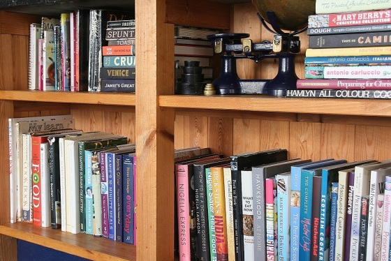 Cookbooks side on small