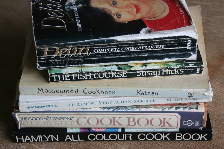 Old cookbooks small